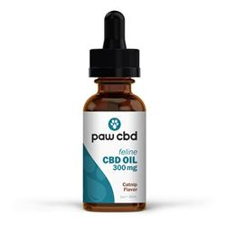 Paw CBD Oil for Cats, Catnip - 30mL