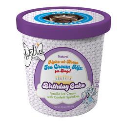 Birthday Cake - Vanilla Ice Cream with Confetti Sprinkles by The Lazy Dog