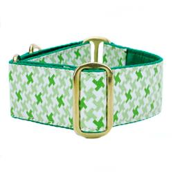 Spring Pixels Satin Lined Collars & Leads