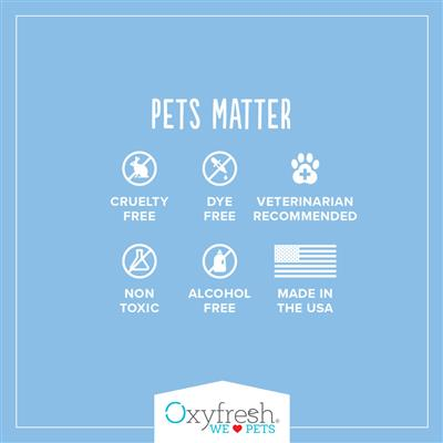 Pet Shampoo for Sensitive Skin by Oxyfresh - Helps Deter Fleas & Ticks - 1 Gallon Bottle