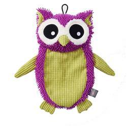 "FlatRageous Owl, Purple/Green, 16"""