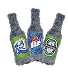Duraplush BrewGear Beer Bottle Dog Toy