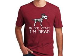 In Dog Years...- Unisex T-Shirt