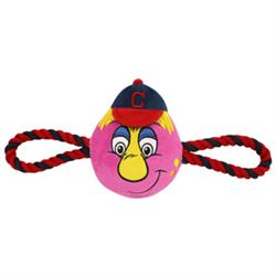Cleveland Indians Mascot Double Rope Toy