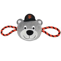 San Francisco Giants Mascot Double Rope Toy