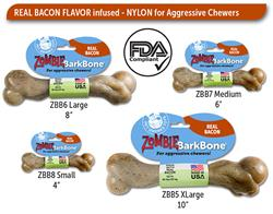 BarkBone Zombie Bacon Nylon Chews