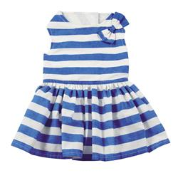 East Side Collection Blue Stripe Dress