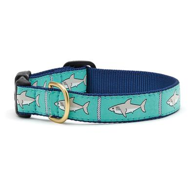 Shark Dog Collection on Navy Webbing