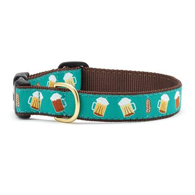 Beer Dog Collection on Brown Webbing