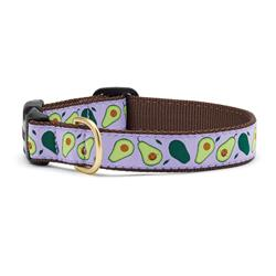 Avocado Dog Collection on Brown Webbing