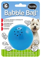 Medium Dog Talking Babble Ball
