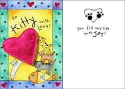 Purr-fect Greetings - Kitty with Love