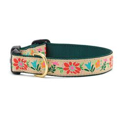 Tapestry Floral Dog Collection on Forest Webbing