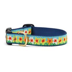 Daffodil Dog Collection on Navy Webbing