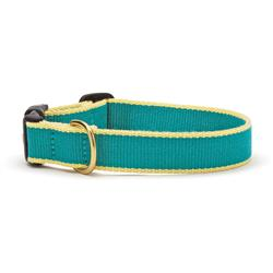 Teal and Yellow - Green Market Collection Collars & Leads