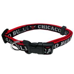 Chicago Bulls Dog Collar and Leash