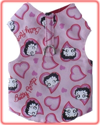 Hearts Harness Vest -Sizes 00-0-1