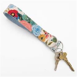 Garden Party  Rifle Paper Co Wristlet Key Fob