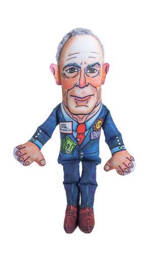 "Mike Dog Toy - 17"" Presidential Parody Toys"