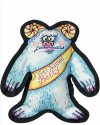 A Yeti Named Betty Small Dog Toy -  Wild Woodies