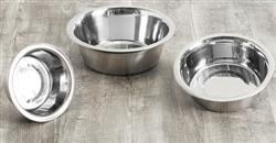 Food Grade 304 Stainless Steel Pet Bowls (Human Grade)