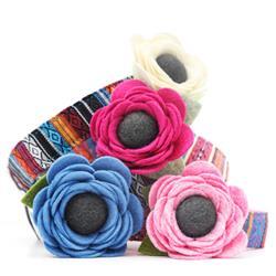 Poppy Dog Collar Flower - 24 Colors!