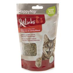 HappyNip Silvervine Catnip Blend Loose Catnip by Petlinks