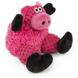 Just for Me Checkers Sitting Pig by GoDog