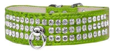 Style #73 Rhinestone Designer Croc Dog Collar