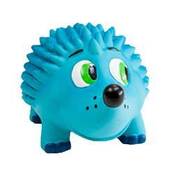 Tootiez Blue Hedgehog, Grunting, Dog Squeak Toy
