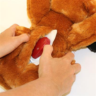 Snuggle Puppy Behavioral Aid Toy - Black Mutt