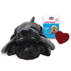 Snuggle Puppy Behavioral Aid Toy - Black Mutt