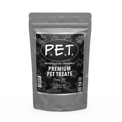Premium CBD Pet Treats -  75mg per bag / 30 count