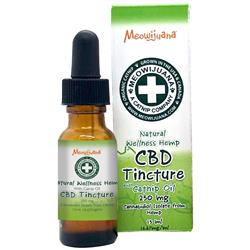CBD Tincture - 250mg CBD with Catnip Oil - 6/case