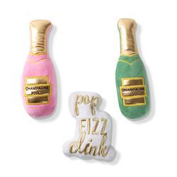 Champagne - 3Pcs Small Dog Toy Set