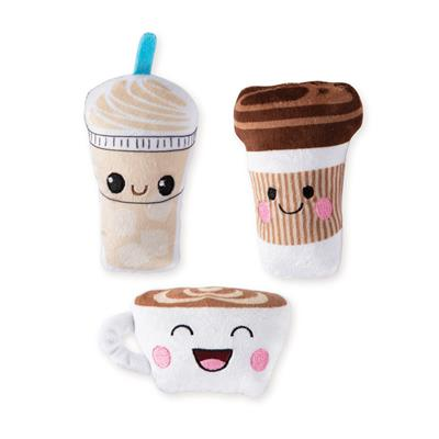Coffee - 3Pcs Small Dog Toy Set