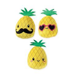 Pineapple - 3Pcs Small Dog Toy Set