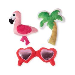 Sunny Daze Small Dog Toys - Set Of 3