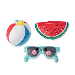 Pool Party Small Dog Toys - Set Of 3