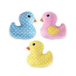 Rubber Ducky Small Dog Toys - Set Of 3