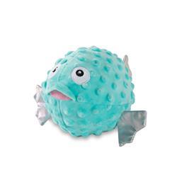 Puffed Up Puffer Fish Plush Dog Toy