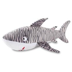Tiger Shark Large Plush Dog Toy