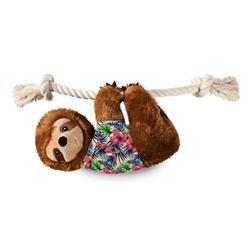 Hangin' Around For Summer Sloth Large Plush Dog Toy
