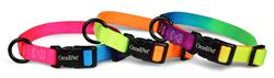 Rainbow Nylon Kwik-Klip Adjustable Collar