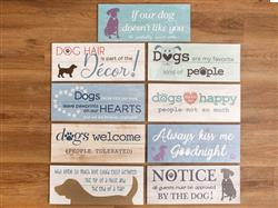 Wood Pallet Sign Assortment