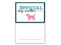 Pet Sitter - Official Dog Walker (6 pack)