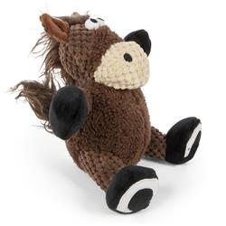 Checkers Sitting Horse by GoDog - Small