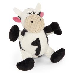 Checkers Sitting Cow by GoDog