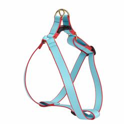 Aqua and Coral - Green Market Collection Harnesses