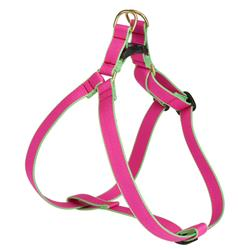 Bright Pink and Lime - Green Market Collection Harnesses